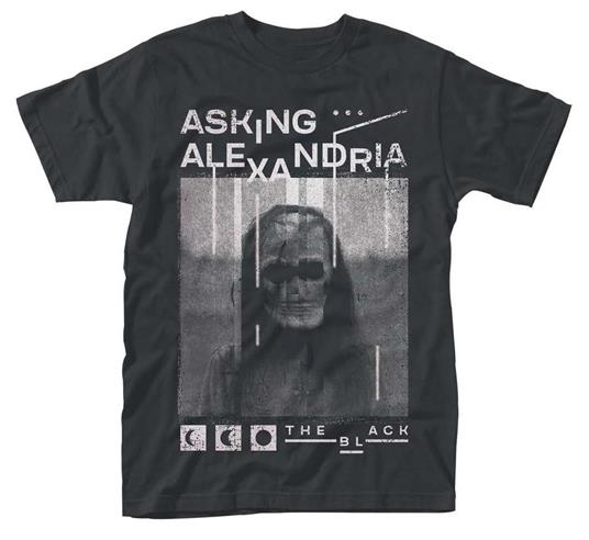 T-Shirt unisex Asking Alexandria. The Black