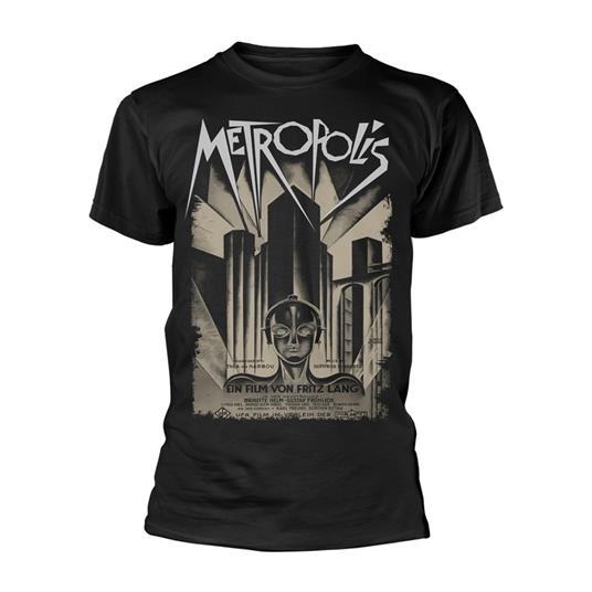 T-Shirt Unisex Tg. 2XL Plan 9 - Metropolis - Poster