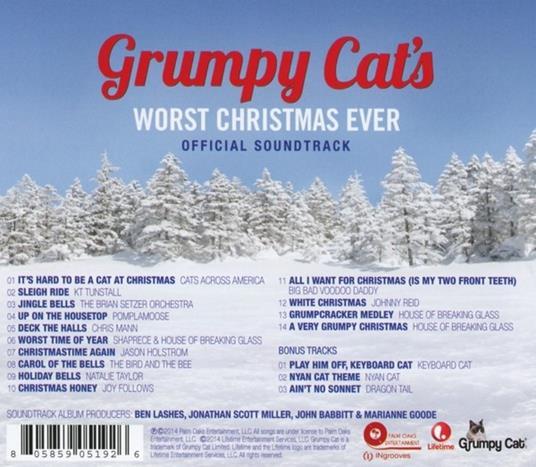Grumpy Cat's Worst Christmas Ever - CD Audio - 2
