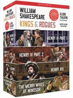 William Shakespeare. Kings & Rogues Box Set (4 DVD)