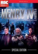 William Shakespeare. Henry IV Part 1. Enrico IV. Parte 1 e 2 (4 DVD)