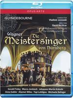 Richard Wagner. I Maestri Cantori di Norimberga. Die Meistersinger Von Nürnberg (Blu-ray)