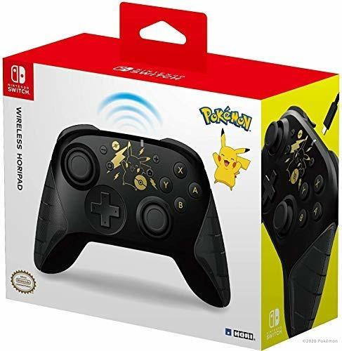 HORI Wireless Horipad Pikachu Black&Gold