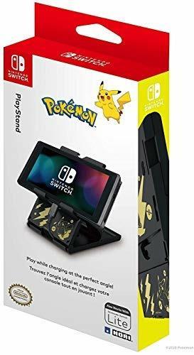 HORI PlayStand (Pikachu Black & Gold)