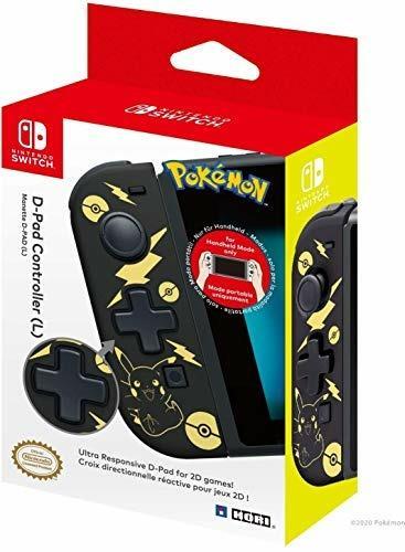 HORI D-Pad Controller Pikachu Black&Gold