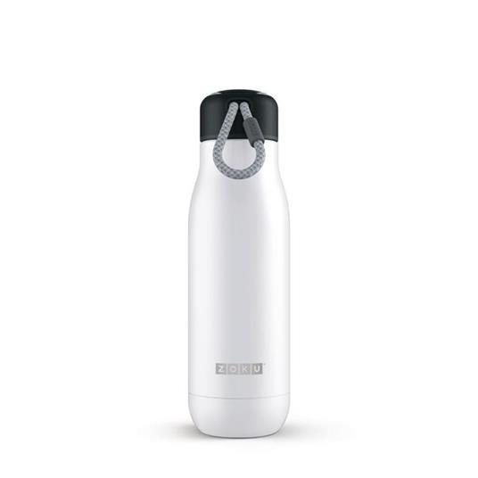 Bottiglia Thermos Koh-I-Noor in acciaio Inox Bianco - 500 ml