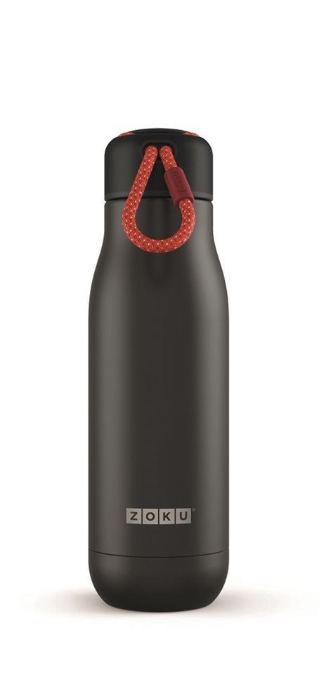 Bottiglia Thermos Koh-I-Noor in acciaio Inox Nero - 500 ml