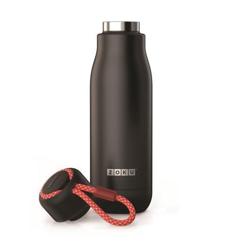Bottiglia Thermos Koh-I-Noor in acciaio Inox Nero - 500 ml - 2