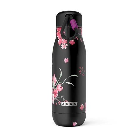 Bottiglia Thermos Koh-I-Noor in acciaio Inox Midnight Floral - 500 ml - 2