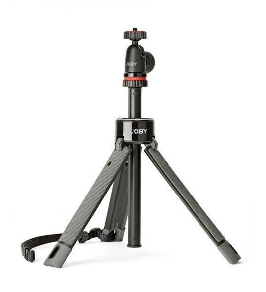 Joby TelePod Pro Kit treppiede Smartphone/fotocamera di azione 3 gamba/gambe Nero, Rosso