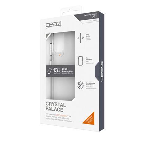 "GEAR4 D3O Crystal Palace custodia per cellulare 17 cm (6.7"") Cover Trasparente"