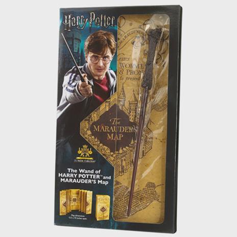 Harry Potter Bacchetta di Harry Potter & Marauders Mappa Complete Collection   Autentica Merchandise Harry Potter   Ultimo Harry Potter Regali Collectors Edition - 2