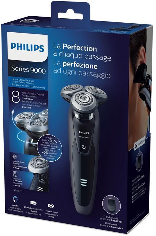 Philips SHAVER Series 9000 Rasoio elettrico Wet & Dry - 4