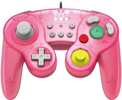 Hori Battle Pad (Peach) Gamepad Nintendo Switch Analogico/Digitale USB Rosa