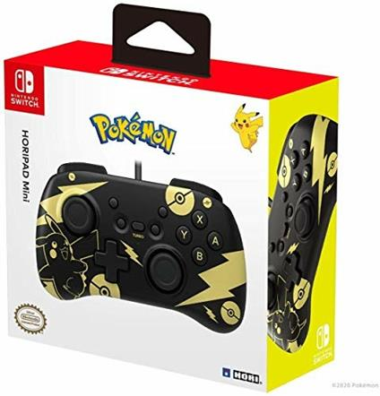 HORI Horipad Mini (Pikachu Black & Gold)