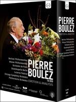 Pierre Boulez. Emotion & Analysis (10 DVD)