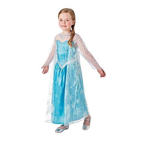 Costume Carnevale Frozen Elsa Deluxe. Taglia M Età 5 6 Anni - 2