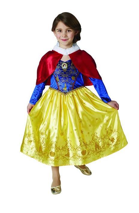 Costume Biancaneve WINTER. Bambina Taglia. LARGE - 2