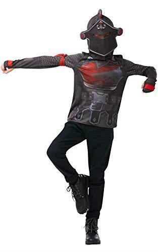 Rubie's Costume ufficiale Fortnite del Cavaliere Nero, kit da gioco