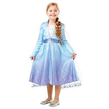 Frozen 2 Classic Costume Elsa Travel M multicolore, 5-6 anni