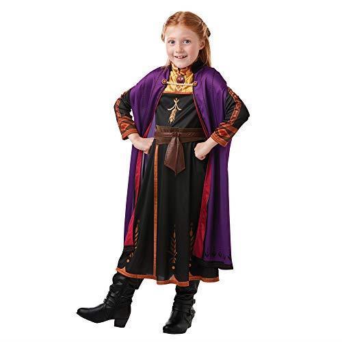 Disney Frozen 2 Classic Costume Anna Travel, S, Multicolore, (Rubie'S 300289-S)