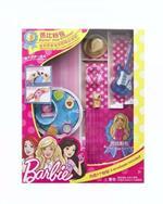 Barbie Pink Envelope Set Accessori Chitarra Cuffie Cappello
