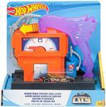 Hot Wheels Stazione di Servizio. Playset per Macchinine con Veicolo Incluso