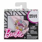 Barbie Top Brandizzati Tg. Unica Top Monospalla Hello Kitty Rosa