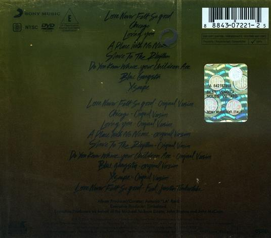 Xscape (O-Card Deluxe Edition) - CD Audio + DVD di Michael Jackson - 2