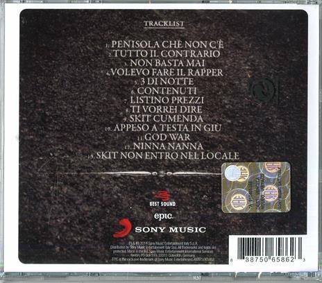 Penisola che non c'è - CD Audio di Fedez - 2