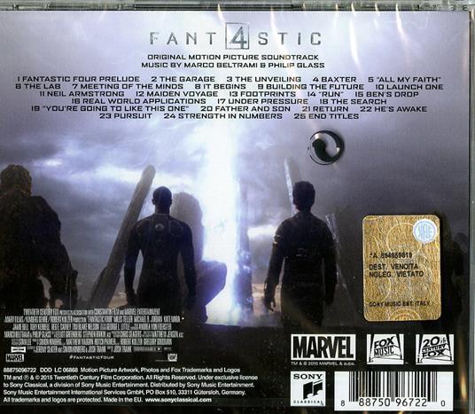 The Fantastic Four (Colonna sonora) - CD Audio - 2