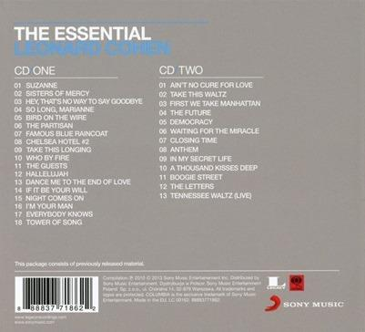 The Essential Leonard Cohen - CD Audio di Leonard Cohen - 3