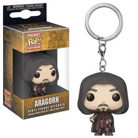 Funko POP! Keychain.s. Lord Of The Rings / Hobbit. Aragron - 2