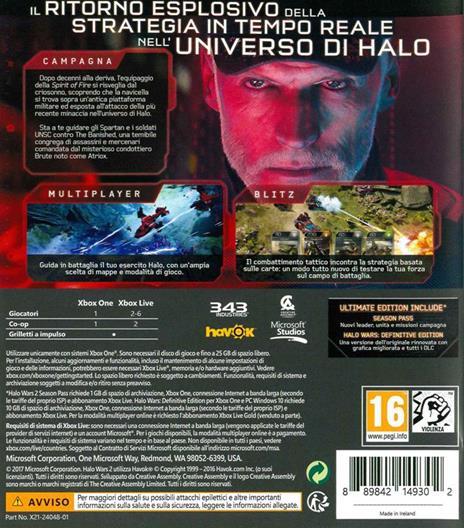 Halo Wars 2 Ultimate Limited Ed. - XONE - 2