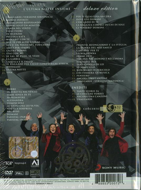 Pooh 50. L'ultima notte insieme (Box Set Special Edition) - CD Audio + DVD di Pooh - 2