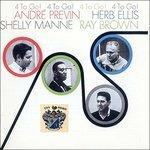 4 to Go! - CD Audio di Ray Brown,André Previn,Shelly Manne,Herb Ellis