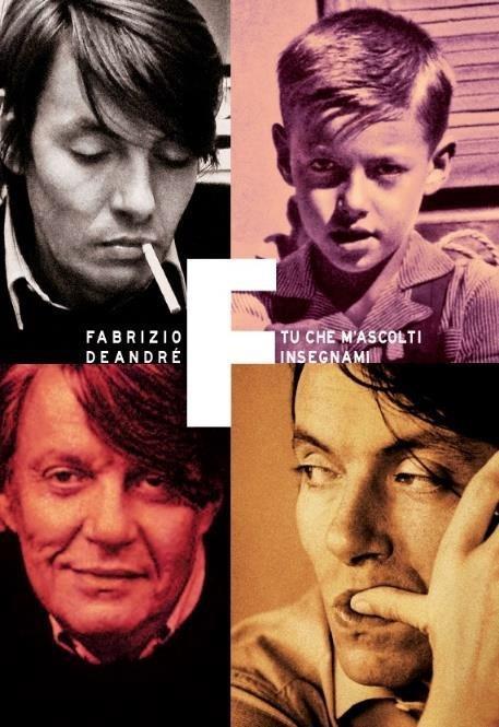 Tu che m'ascolti insegnami (Bookset) - CD Audio di Fabrizio De André