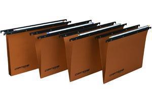 Bertesi Cartesio cartella sospesa e accessorio Arancione