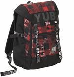 Zaino Square YUB Urban Check Brillant Red - 29x41,5x20 cm