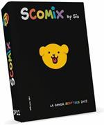 Agenda Comx Scottecs by Sio 2021-2022, 16 Mesi Medium Nero