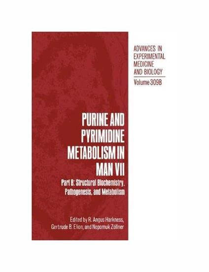 Purine and Pyrimidine Metabolism in Man VII - copertina