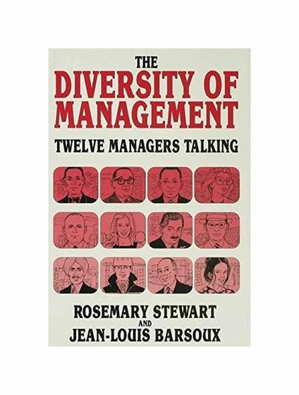 The Diversity of Management - Rosemary Stewart,Jean-Louis Barsoux - copertina