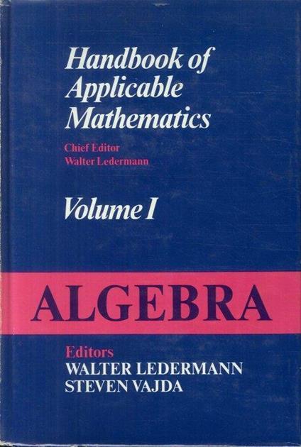 Algebra: 1 - copertina