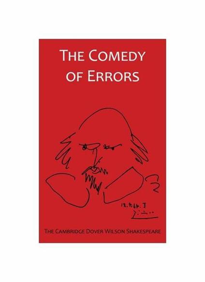 The Comedy of Errors: the Cambridge Dover Wilson Shakespeare - copertina