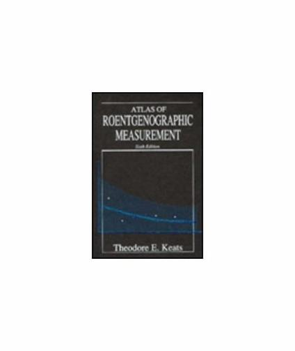 Atlas of Roentgenographic Measurement - copertina