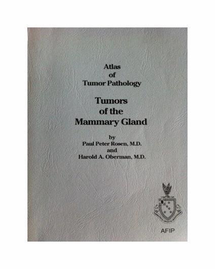 Atlas of Tumor Patology. Tumors of the Mammary Gland: 7 - copertina