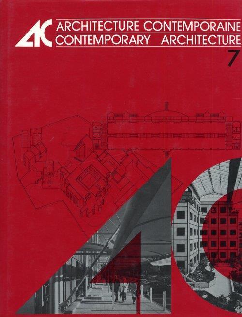 Architecture Contemporaine. Contemporary Architecture. Volume 7 - copertina