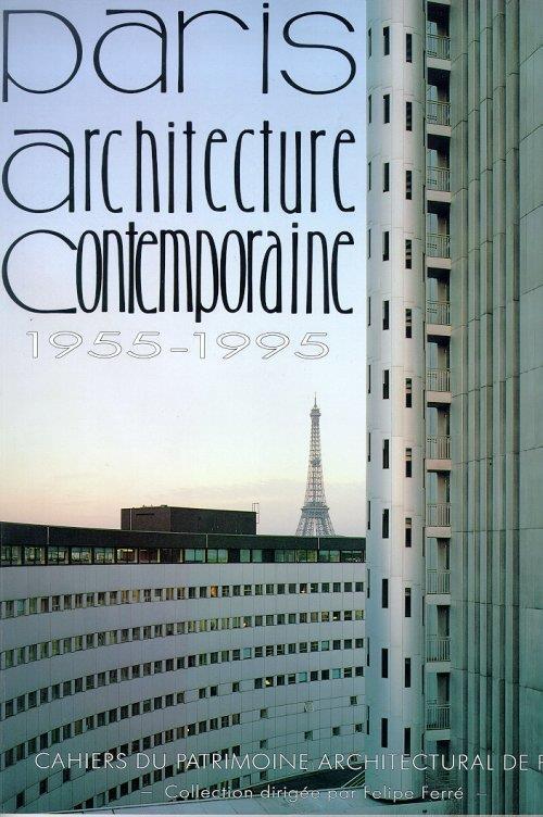 Paris. Architecture contemporaine, 1955-1995. I - copertina