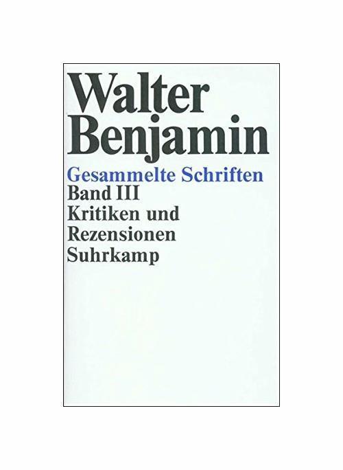 Kritiken Und Rezensionen: Bd. 3 - copertina