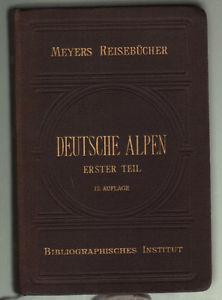Deutsche Alpen - copertina